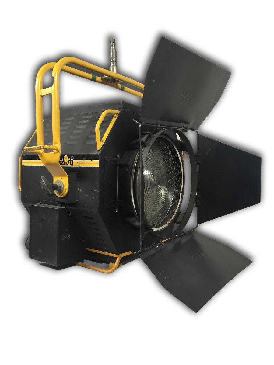 alquiler de proyectores hmi para rodaje