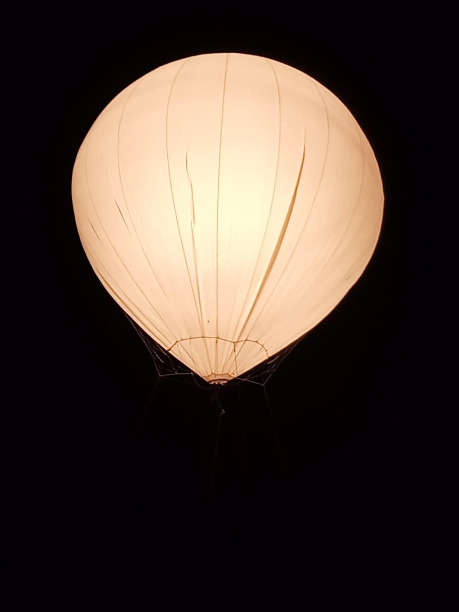 alquiler de globos de helio o aire para rodaje